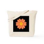 Orange Dahlia I Tote Bag