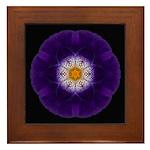 Iris II Framed Tile