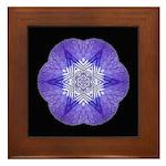 Iris I Framed Tile