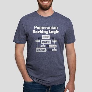 Pomeranian Logic Women's Dark T-Shirt