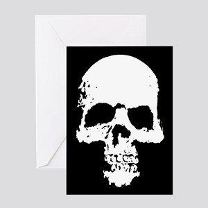 Stony Skull Greeting Card