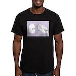 1 Gallon = 4 Quarts Men's Fitted T-Shirt (dark)
