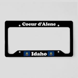 Coeur d'Alene, ID License Plate Holder