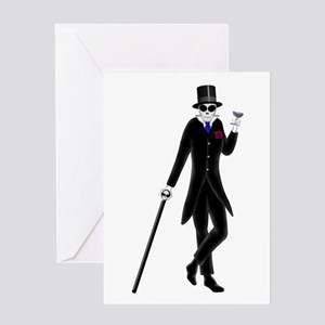 Morte On The Ritz Greeting Card