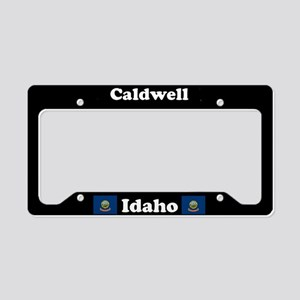 Caldwell, ID License Plate Holder