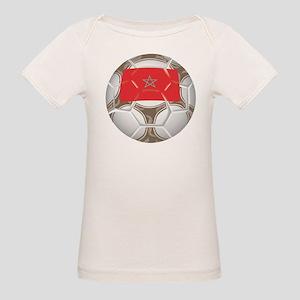 Morocco Championship Soccer Organic Baby T-Shirt