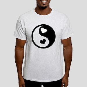 Heart Yin Yang Light T-Shirt