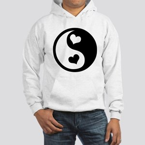 Heart Yin Yang Hooded Sweatshirt