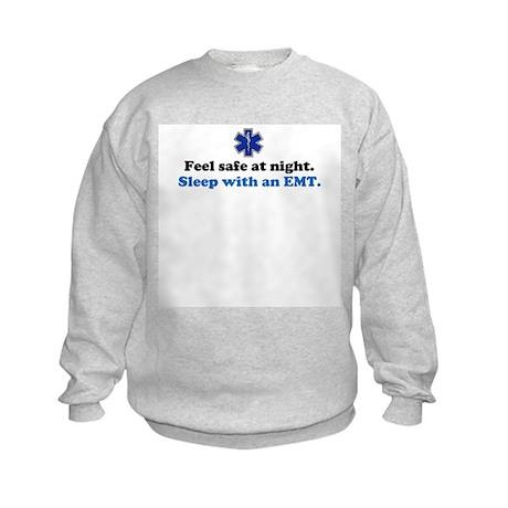 Sleep with an EMT Kids Sweatshirt