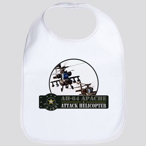 AH-64 Apache Helicopter Bib