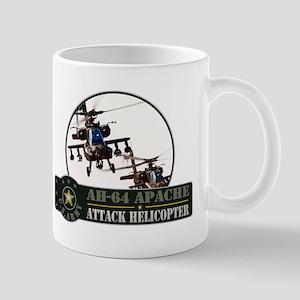 AH-64 Apache Helicopter Mug