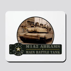 M1 A2 Abrams Tank Mousepad