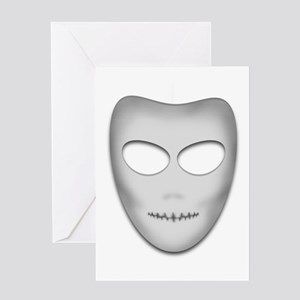 Death Masque Greeting Card