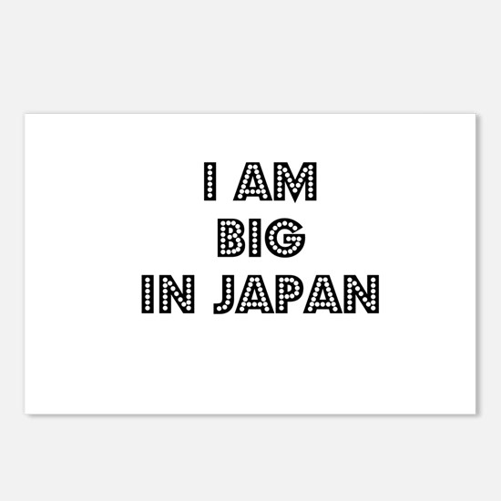 I Am Big In Japan Postcards (Package of 8)