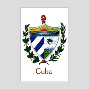 Cuban Coat of Arms Mini Poster Print