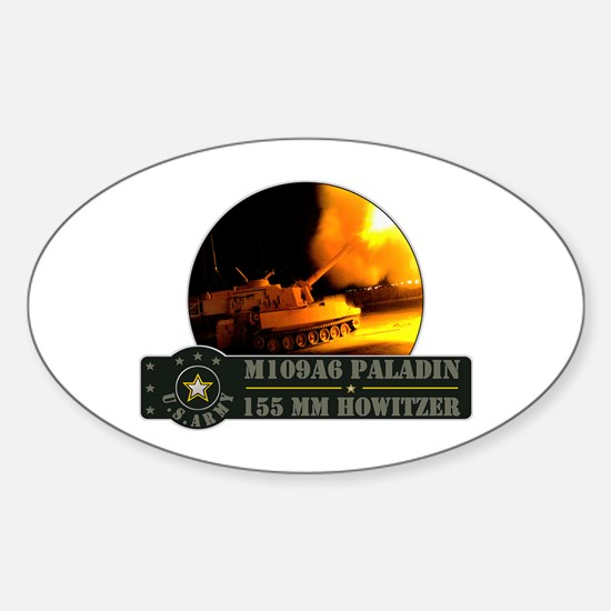 Paladin Howitzer Oval Decal
