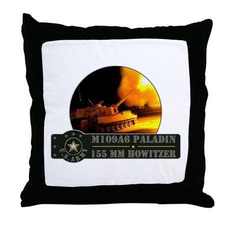 Paladin Howitzer Throw Pillow
