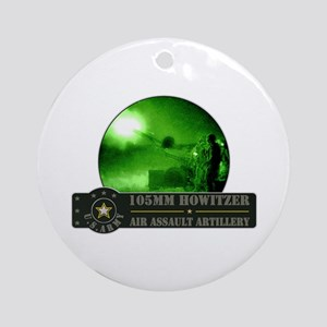 Towed Howitzer Ornament (Round)