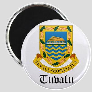 Tuvaluan Coat of Arms Seal Magnet