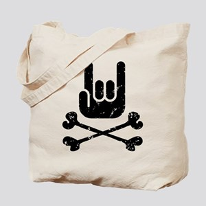Rock Pirate Tote Bag