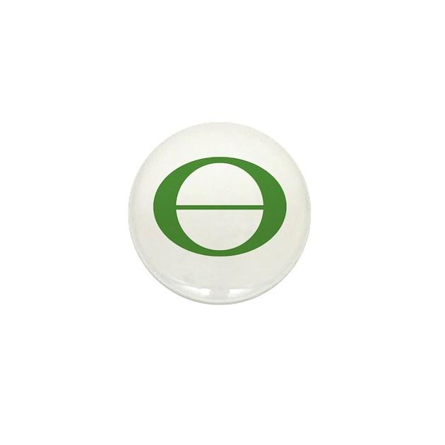 Earth Day Symbol Ecology Symb Mini Button By Tshirtsavvy