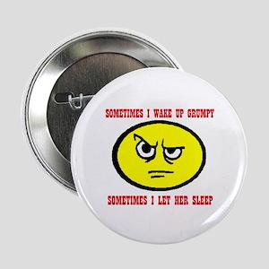 "FUNNY GRUMPY 2.25"" Button"