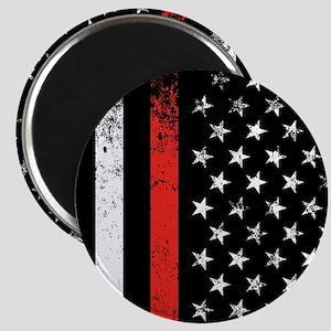 Firefighter Flag Magnets