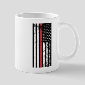 Firefighter Flag Mugs