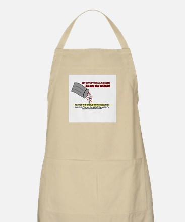 You are the Salt BBQ Apron