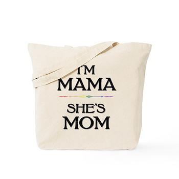 I'm Mama - She's Mom Tote Bag
