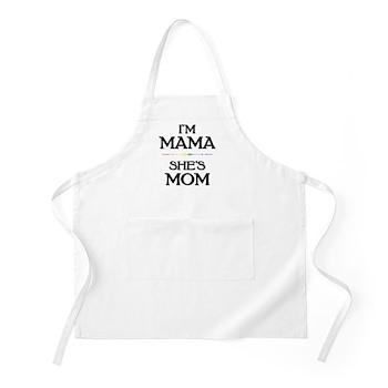 I'm Mama - She's Mom Apron