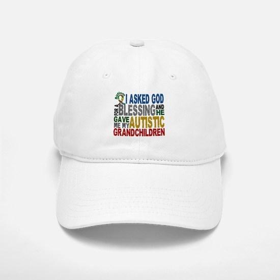 Blessing 5 Autistic Grandchildren Baseball Baseball Cap