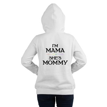 I'm Mama - She's Mommy Women's Hooded Sweatshirt