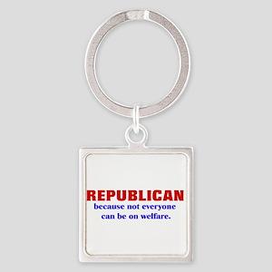 Republican Welfare Keychains