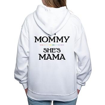 I'm Mommy - She's Mama Women's Hooded Sweatshirt