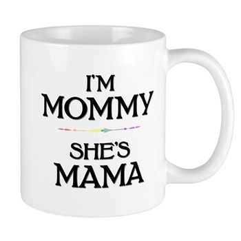I'm Mommy - She's Mama Mug