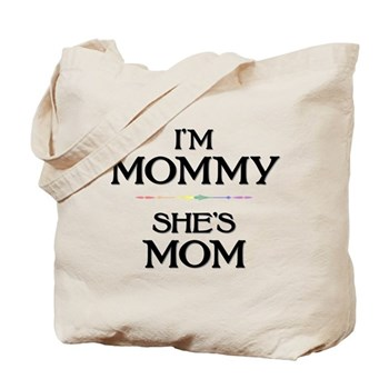I'm Mommy - She's Mom Tote Bag