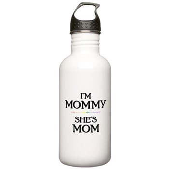 I'm Mommy - She's Mom Stainless Water Bottle 1.0L