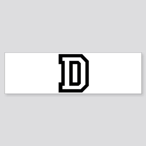 College Font C Sticker (Bumper)