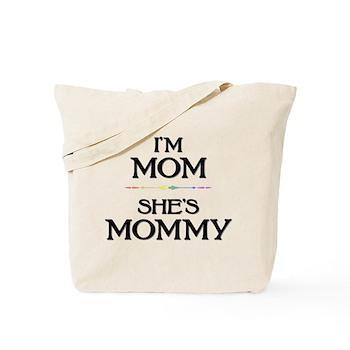 I'm Mom - She's Mommy Tote Bag