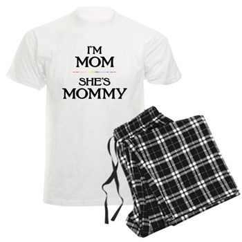 I'm Mom - She's Mommy Men's Light Pajamas