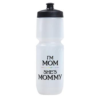 I'm Mom - She's Mommy Sports Bottle