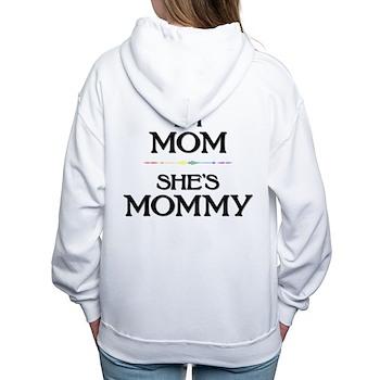 I'm Mom - She's Mommy Women's Hooded Sweatshirt