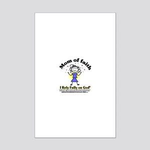 Mom of Faith Mini Poster Print