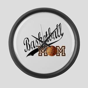 Basketball Mom Large Wall Clock