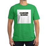 'Cancer Wars' Men's Fitted T-Shirt (dark)