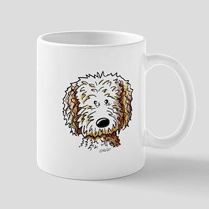 Doodle Dog Face Mug