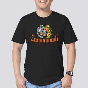 Armenia Men's Fitted T-Shirt (dark)
