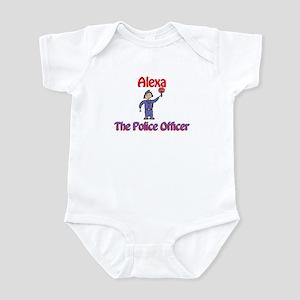Alexa - Police Officer Infant Bodysuit