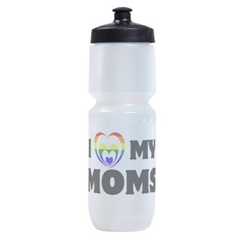 I Heart my Moms LGBT Sports Bottle